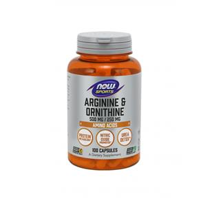 L- arginina/ornitina (arginine/ornithine) - Now Sports
