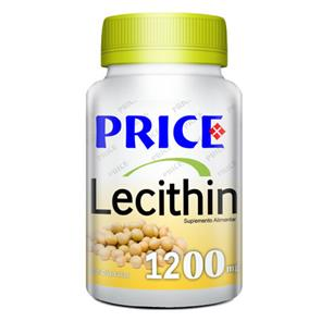 Lecitina de Soja - 1200mg 90 cápsulas - Price
