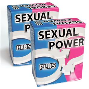 Pack 2 Sexual Power Plus