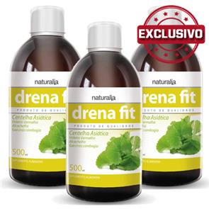 Pack 3 Drena Fit Naturalia