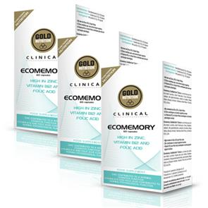 Pack 3 Ecomemory GoldNutrition Clinical