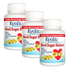Pack 3 Kyolic Blood Sugar Balance