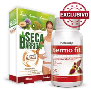 Pack Seca Barriga Fibras + Termo Fit