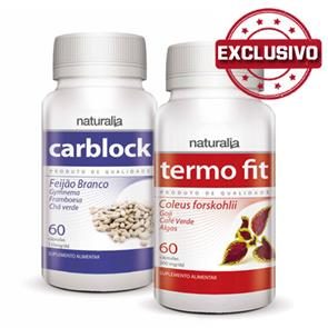Pack Termo Fit + Carblock Naturalia